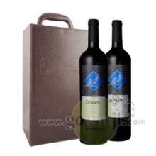 供应澳大利亚袋王1298干红葡萄酒两支装批发