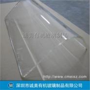 透明有机玻璃热弯 弧形亚克力折弯图片