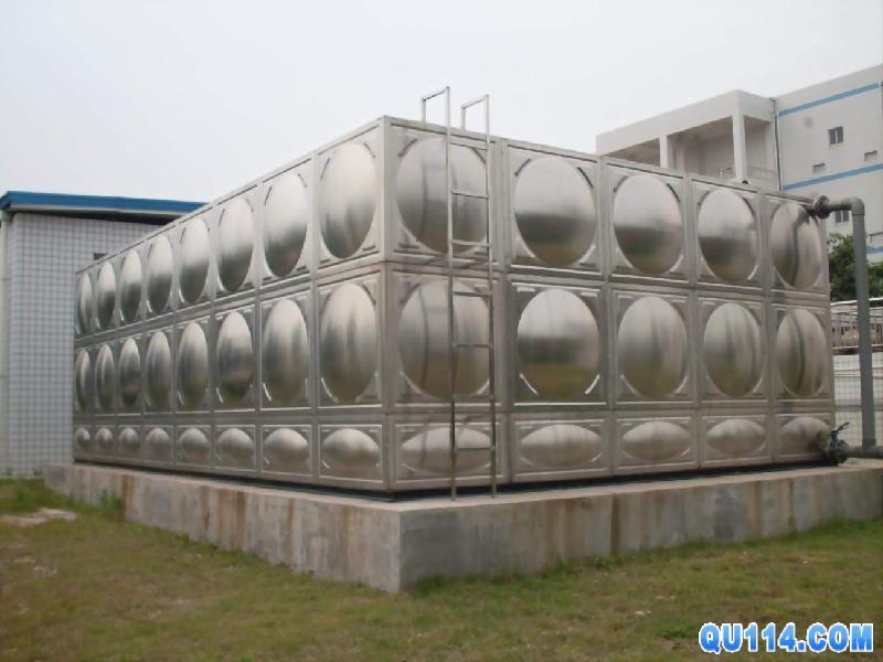 厂家供应随州不锈钢方形拼板水箱冷水箱保温