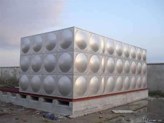 供应枣阳不锈钢消防水箱