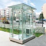 供应玻璃岗亭