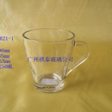供应玻璃高白料咖啡杯批发