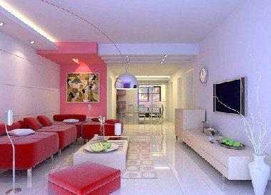 成诚装饰公司生产供应室内装修设计图/80平房屋装修