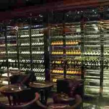 供应酒吧酒窑不锈钢红酒架