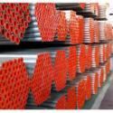 大口径涂塑钢管钢塑复合管图片