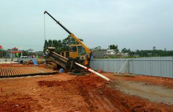 供应鄱阳县非开挖顶管施工图片