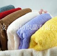 16S螺旋素色全棉面巾图片