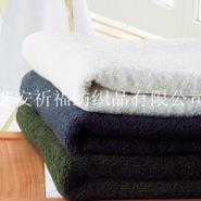 素色平织全棉浴巾图片