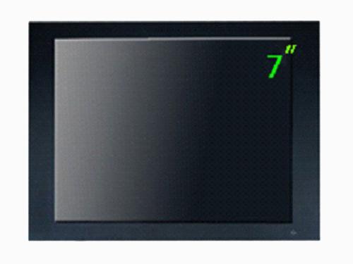 供应智能车载监控7寸高清液晶监视器