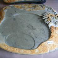 端砚石雕茶盘的选购图片