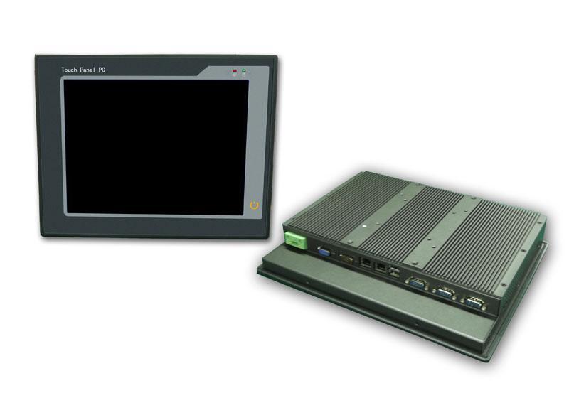 供应上海枭杰科技15寸超薄无风扇工业电脑PPC-P156N26-R10