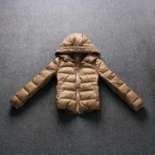 供应批发外贸原单品牌冬装时尚短款女式羽绒服外贸原单批发
