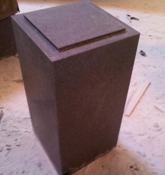 供应人造石展台人造石展柜