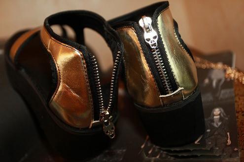 淘宝店铺街厚底松糕鞋图片