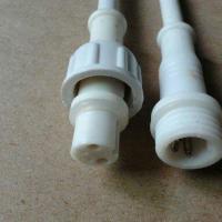供应信号接插头 防水信号线定做 公母连接线现货