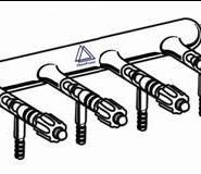 气体分配器具高真空四氟节门图片