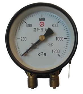 供应YZS-102双针压力表