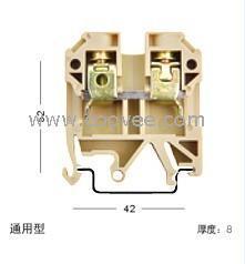 供应接线端子接线板SAK10厂家直销
