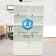 白色苹果配件柜图片