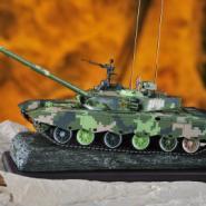 收藏级99A式主战坦克模型图片