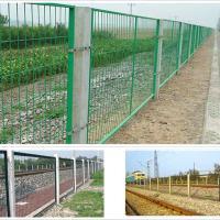 供应高速公路护栏网铁路围栏网机场围网铁丝防护网码头铁丝围墙网厂家价格