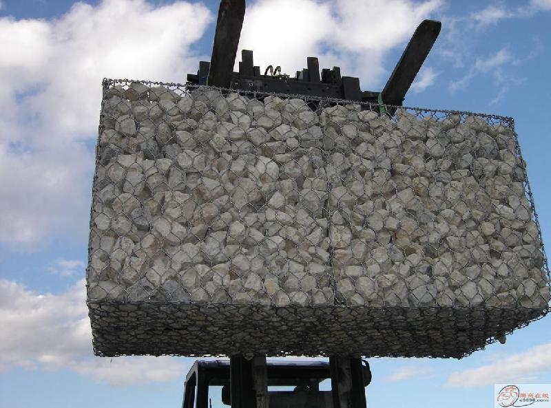 安平县海越石笼网厂专业铸造辉煌镀锌石笼网厂防洪石笼网厂家