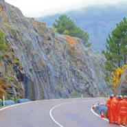 勾花网镀锌铁丝网公路绿化铁丝网图片