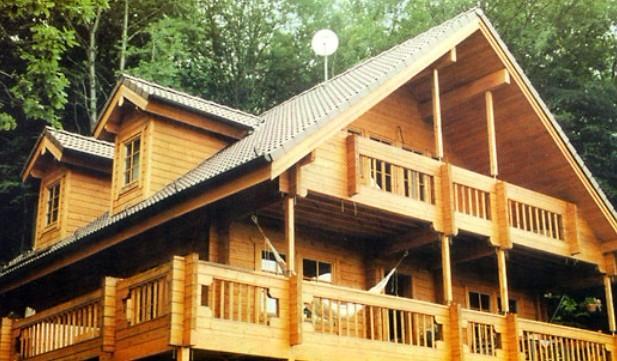 木结构房屋制作安装同样能够达到其它建筑材