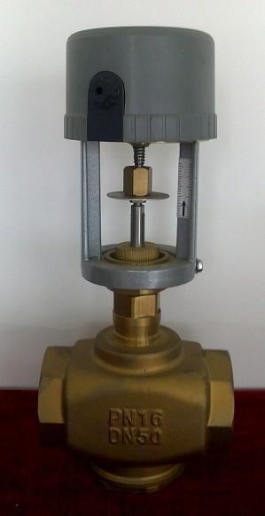 奥格森比例积分调节阀电动二通阀图片
