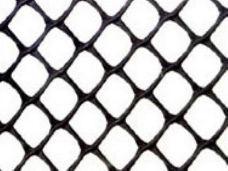 高强度土工网塑料网格图片