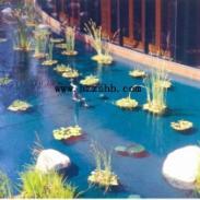 工业园景观水图片