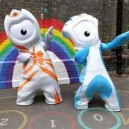 2012伦敦奥运吉祥物单眼宝宝租赁图片