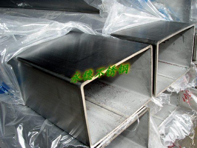 供应304不锈钢矩形管60x100mm
