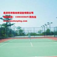 九龙坡区硅PU羽毛球场厂家图片