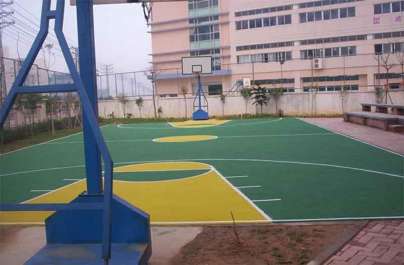 供应重庆网球场施工公司图片