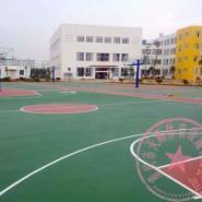 潼南县羽毛球场地施工图片