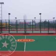 重庆篮球场硅PU地面报价,羽毛球场地建设专业公司, 重庆万州网球场施工图片