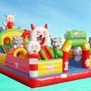 重庆充气儿童玩具图片