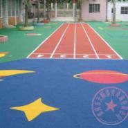 重庆幼儿园专用彩色安全地垫图片
