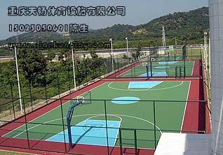 供应重庆网球场厂家施工图片
