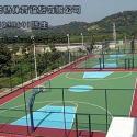 重庆网球场厂家施工图片