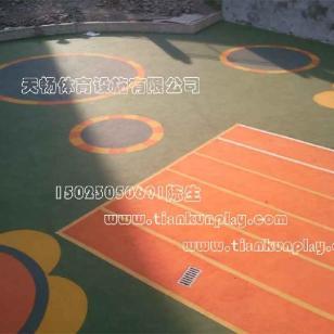 EPDM彩色安全地垫图片