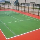 重庆塑胶网球场施工