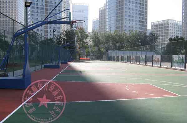 供应江北区篮球场图片