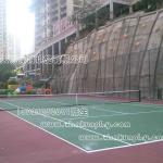 重庆塑胶网球场施工报价