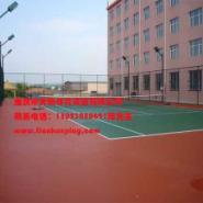 重庆塑胶球场厂家施工图片