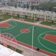 重庆施工篮球场地图片
