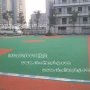 重庆哪里有现浇安全地垫施工厂家图片