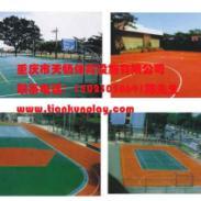 硅PU篮球场地面图片