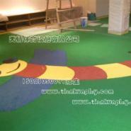 重庆塑胶地面施工厂家图片